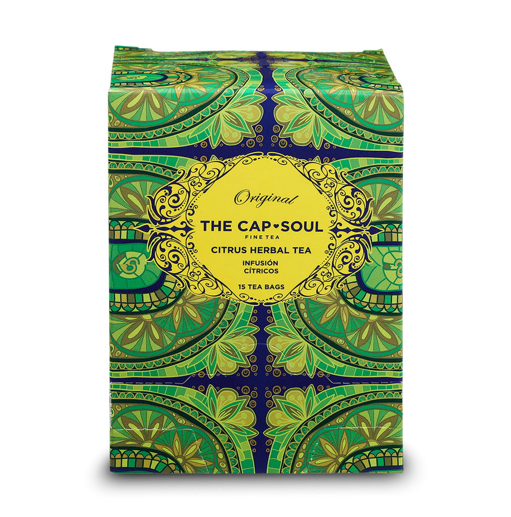 Citrus Herbal Tea Pyramids