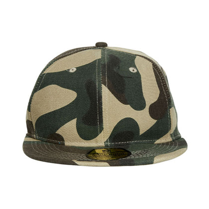 Camo Snapback Cap,  - GetCapped - Personalised and custom embroidered caps