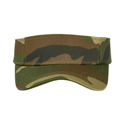 Camo Sunvisor,  - GetCapped - Personalised and custom embroidered caps