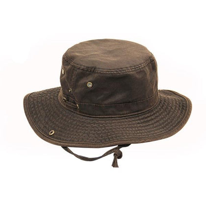 Oil Skin Bush Hat - GetCapped
