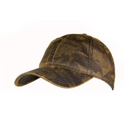 Oil Skin Camo Cap,  - GetCapped - Personalised and custom embroidered caps