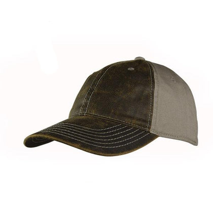 Oil Skin Hunting Cap,  - GetCapped - Personalised and custom embroidered caps