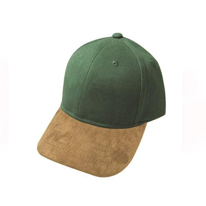 Suede Peak Cap,  - GetCapped - Personalised and custom embroidered caps