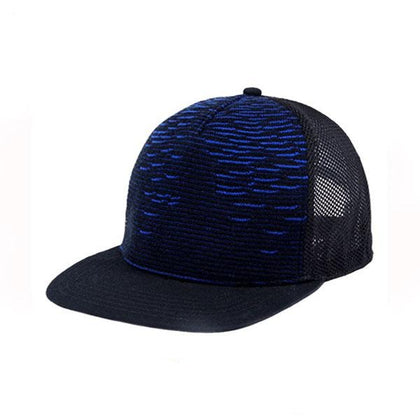 Top Speed Knitted Peak Snap Back Trucker Cap,  - GetCapped - Personalised and custom embroidered caps