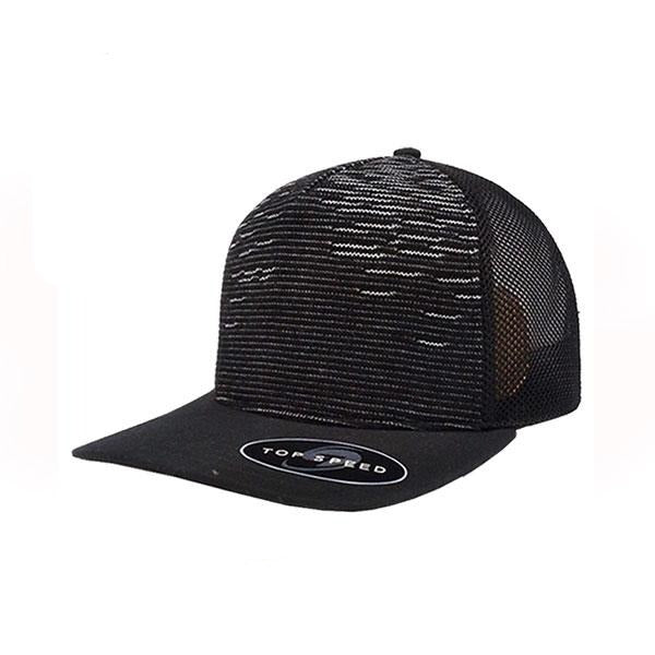 Top Speed Knitted Peak Snap Back Trucker Cap
