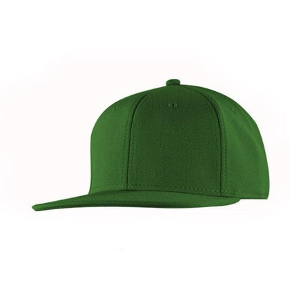 Topfit Birds Eye Flat Peak Snapback Cap,  - GetCapped - Personalised and custom embroidered caps