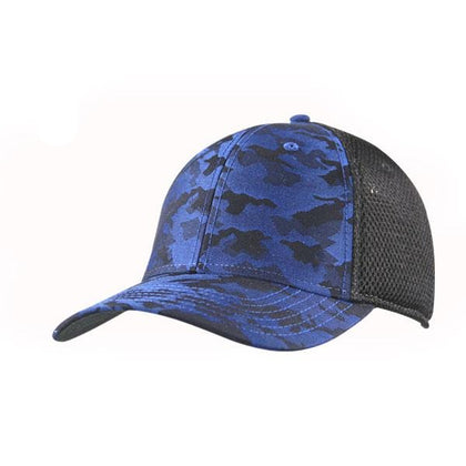 Topflex Camo Fitted Trucker Cap,  - GetCapped - Personalised and custom embroidered caps