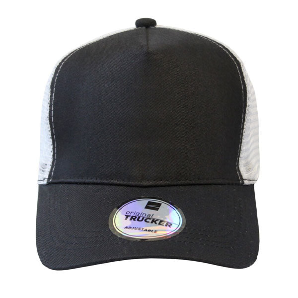 Promo Trucker 5 Panel Curved Peak Cap