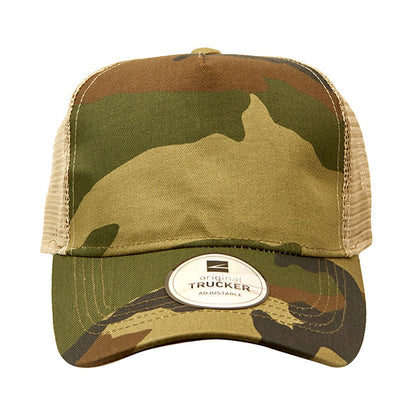 Trucker Camo Cap,  - GetCapped - Personalised and custom embroidered caps
