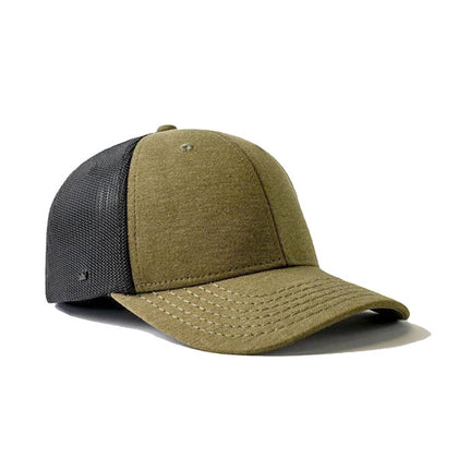 Uflex 6 Panel Curved Peak Fitted Trucker Cap,  - GetCapped - Personalised and custom embroidered caps