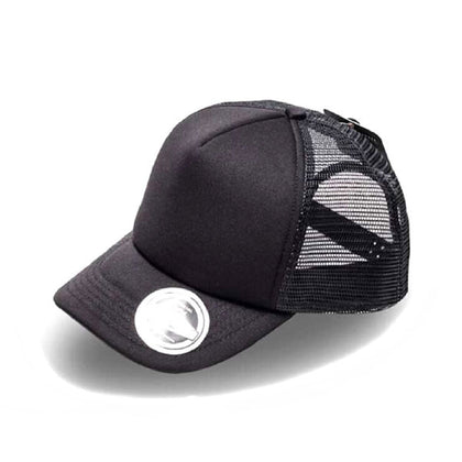 Uflex Kids Trucker Curved Peak Cap,  - GetCapped - Personalised and custom embroidered caps