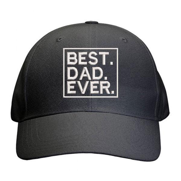 Best Dad Ever Cap
