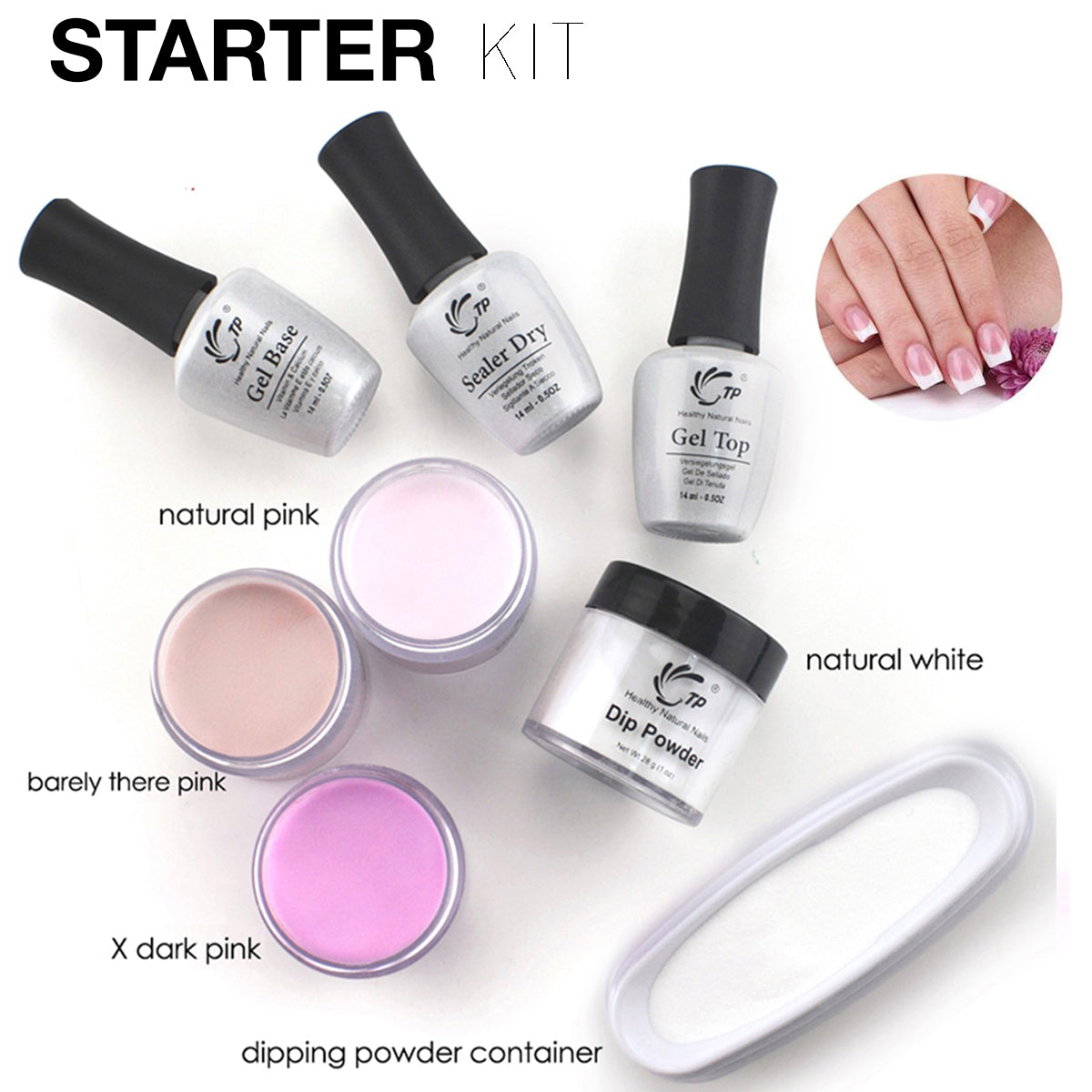 DIY Nails Dip Powder Kit – VAELIO