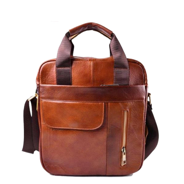 AETOO Genuine Leather Bag top-handle Men Bags Male Shoulder Crossbody Bags Messenger Small Flap Casual Handbags Men Leather Bag