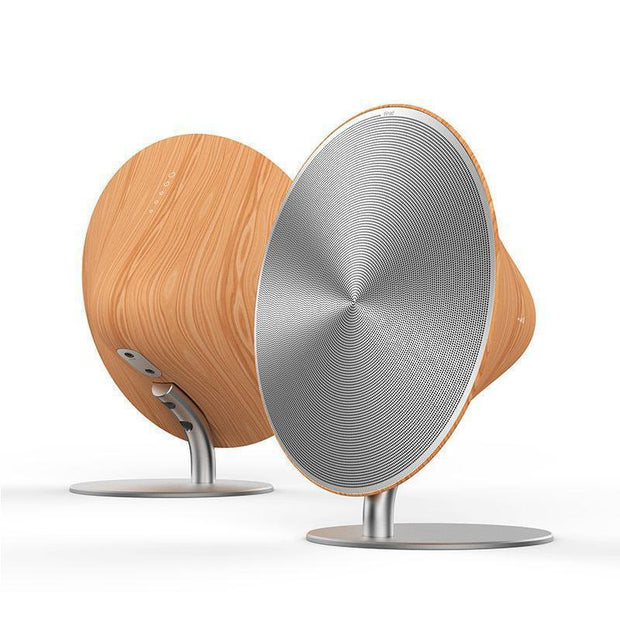Wireless SOLO One Bluetooth Speaker Wooden Vintage Subwoofer Bluetooth 4.0 NFC 2.0 Channel Music Player With Touch Surface VS155