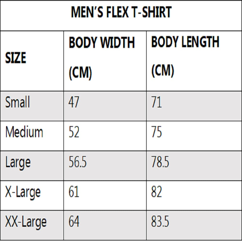 nowflex mens flex t shirt