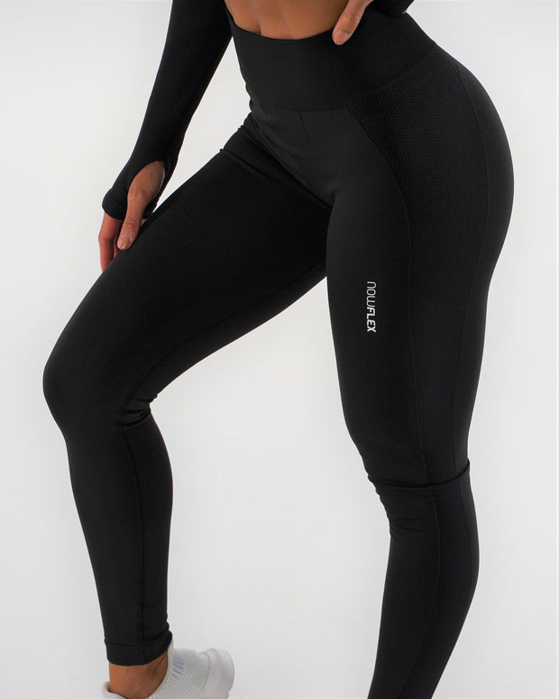FLEX Seamless Leggings - Raven - NowFLEX