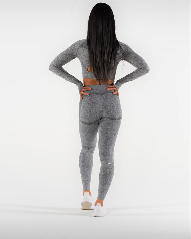 FLEX Seamless Leggings - Coal - NowFLEX