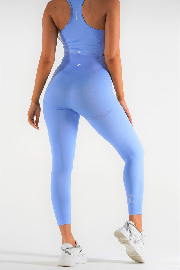 Motion Seamless Leggings - Sky - NowFLEX