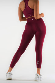 Motion Seamless Leggings - Ruby Red - NowFLEX
