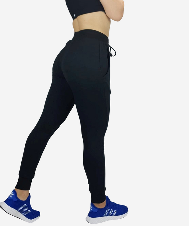 Womens Flex Trackies - Black - NowFLEX