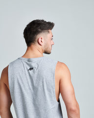 Flex Muscle Tank - Grey Marble