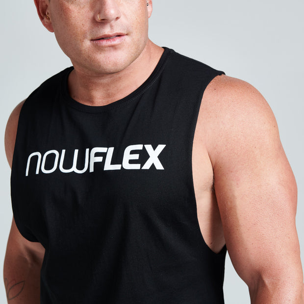 Flex Muscle Tank - Black