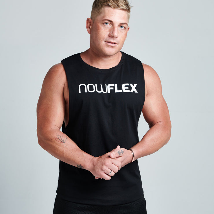 Flex Muscle Tank - Black - NowFLEX
