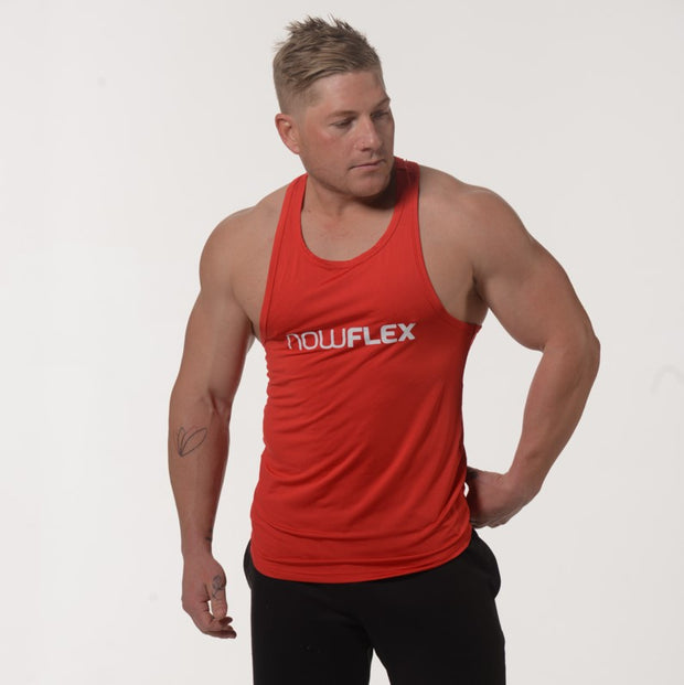 Flex Singlet T-Bar - Red - NowFLEX