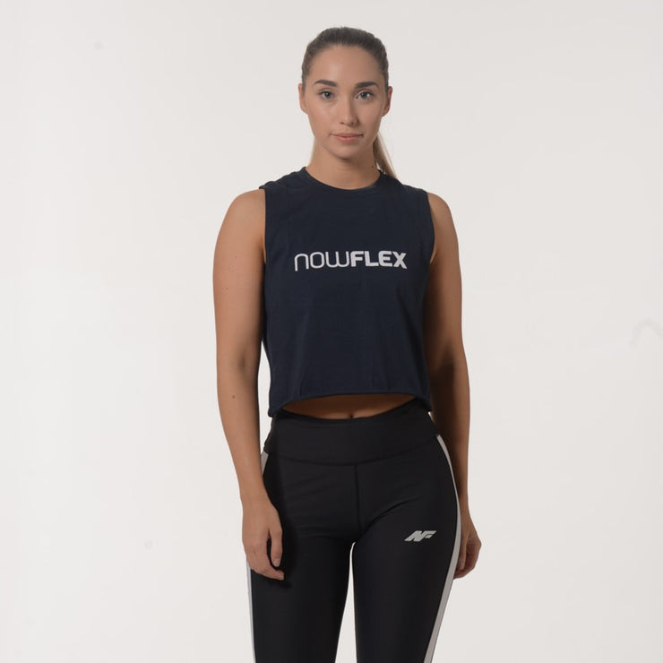 Flex Crop - Navy - NowFLEX