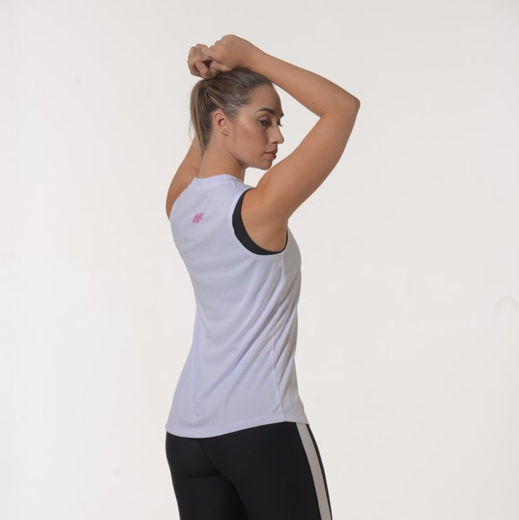 Active Flex Tank - White