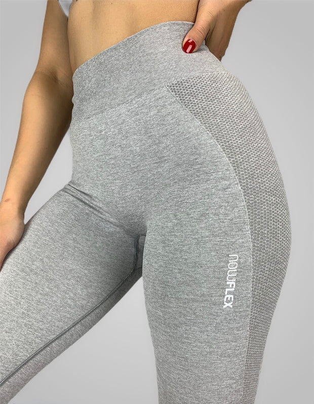 FLEX Seamless Leggings - Steel - NowFLEX