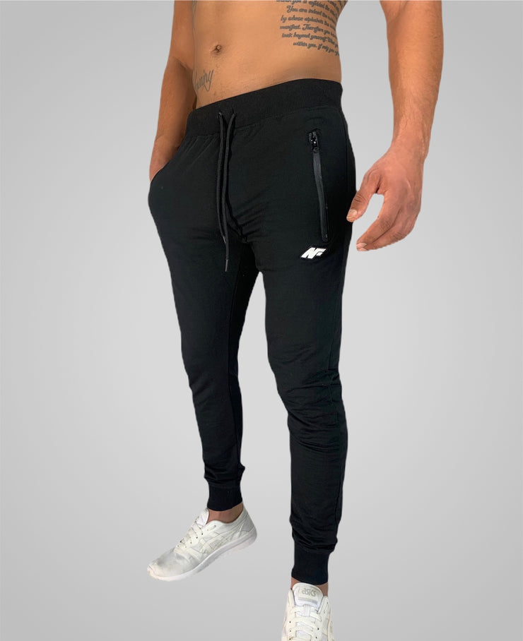 Mens Flex Trackies - Black - NowFLEX