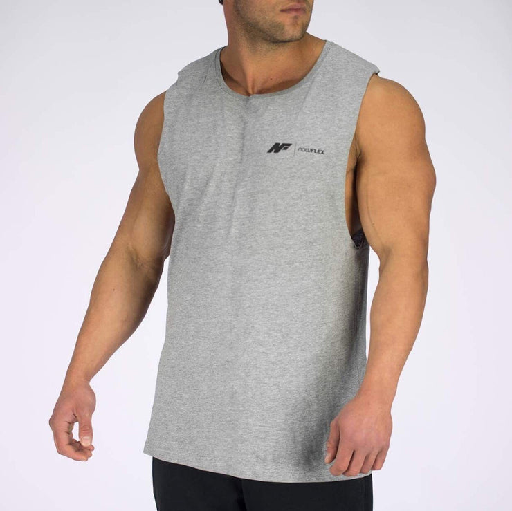 Essential Muscle Tank - Grey Marble