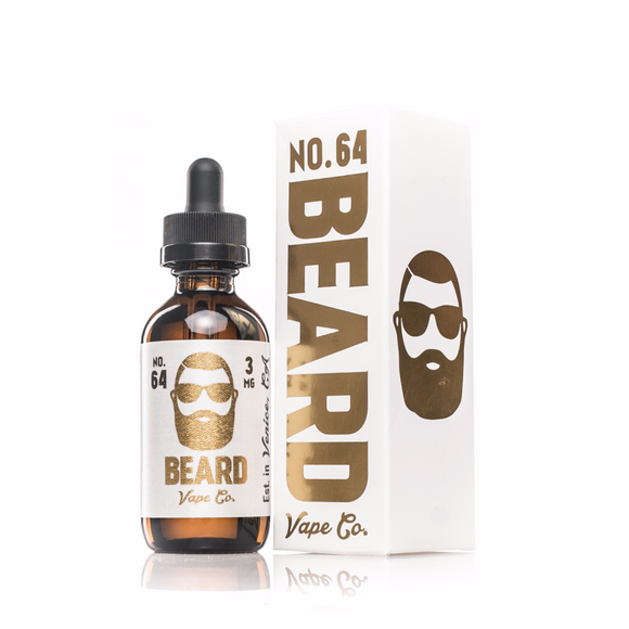 BEARD - NO.64 E-JUICE (60ML) - Vaporization USA