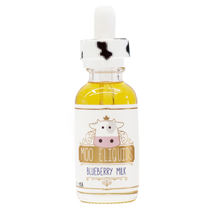 MOO - BLUEBERRY MILK E-JUICE (60ML) - Vaporization USA