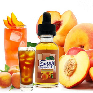SNAP - Peach Iced Tea E-Juice (30ml) - Vaporization USA