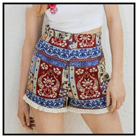 High Waisted Shorts at Fashion Genie Boutique