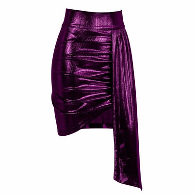 Weekend Wonder Purple Mini Skirt - Fashion Genie Boutique