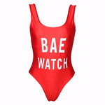 Bae Watch One Piece Swimsuit Fashion Genie Boutique