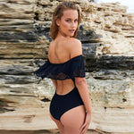 Copacabana Black Bardot Swimsuit