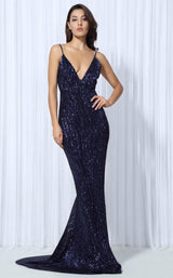 Goal Digger Navy Embellished Sequin Maxi Dress.jpg