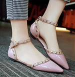 Between Me and You Pink Studded Pumps - Fashion Genie Boutique USA Alt