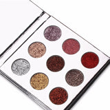 TZ Cosmetics Galaxy Pressed Glitter Eyeshadow Palette - Fashion Genie Boutique USA Alt