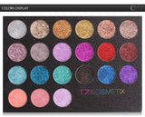 TZ Cosmetics Glitter & Gloss Eyeshadow Palette - Fashion Genie Boutique USA Alt