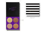 TZ Cosmetics Luminous Start Highlighter Palette - Fashion Genie Boutique USA Alt