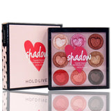 Hold Live Crystal Diamond Glitter Eyeshadow Palette - Fashion Genie Boutique USA Alt