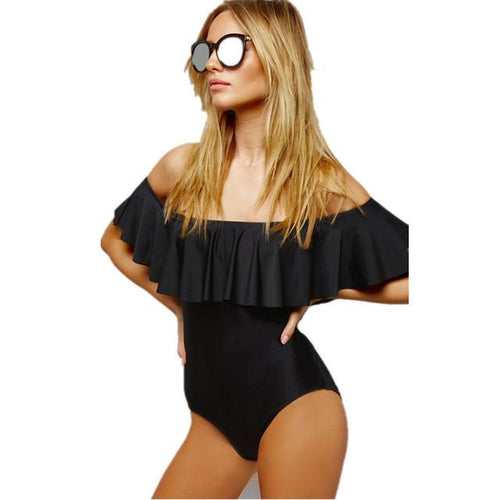 Sexy Sun Bardot Swimsuit Fashion Genie Boutique