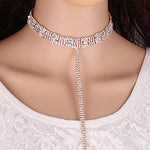 Rhinestone Collar Necklace Fashion Genie Boutique