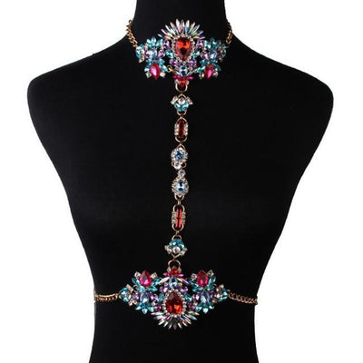 Gem Body Statement Necklace